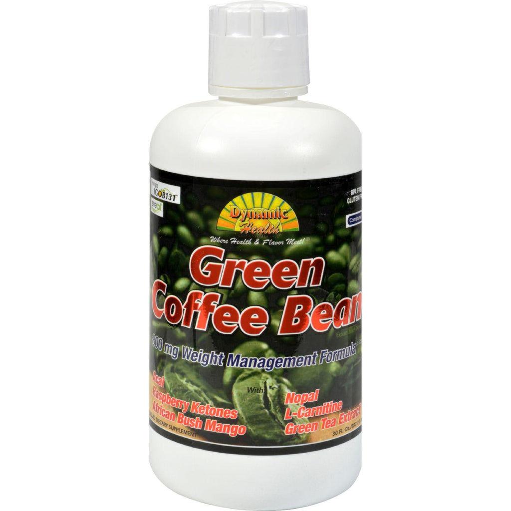 Dynamic Health Green Coffee Bean Extract Juice Blend - 800 Mg - 30 Fl Oz