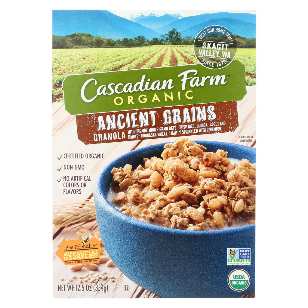 Cascadian Farm Organic Granola - Ancient Grains - Case Of 6 - 12.5 Oz.
