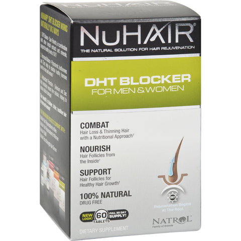 Nuhair Dht Blocker For Men And Women - 60 Tablets