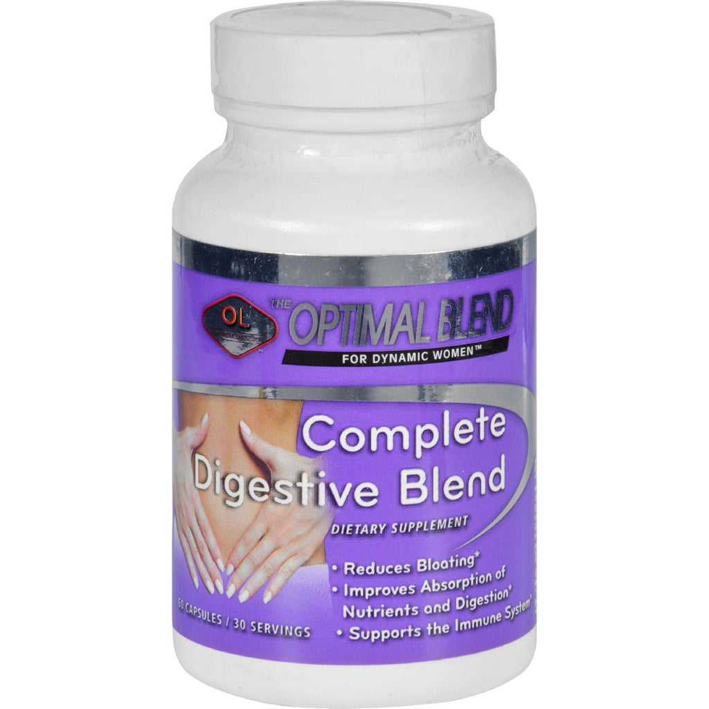 Optimal Blend Digestive Blend - Complete - 60 Capsules