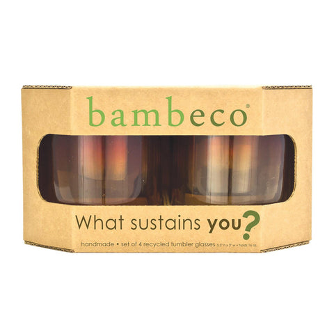 Bambeco Rioja Recycled Tumbler Glass - Case Of 12