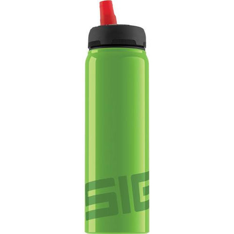 Sigg Water Bottle - Active Top - Green - Case Of 6 - .75 Liter