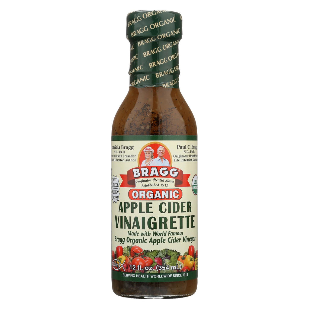 Bragg Organic Raw Apple Cider Vinegar - Case Of 6 - 12 Fl Oz.