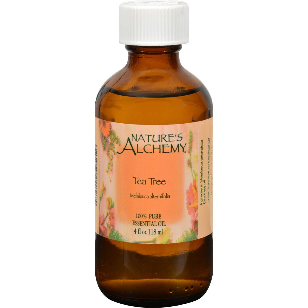Nature's Alchemy Essential Oil - 100 Percent Pure - Tea Tree - 4 Fl Oz