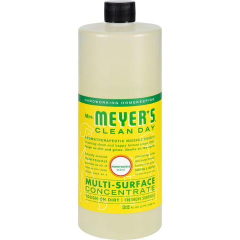 Mrs. Meyer's Multi Surface Concentrate - Honeysuckle - 32 Fl Oz
