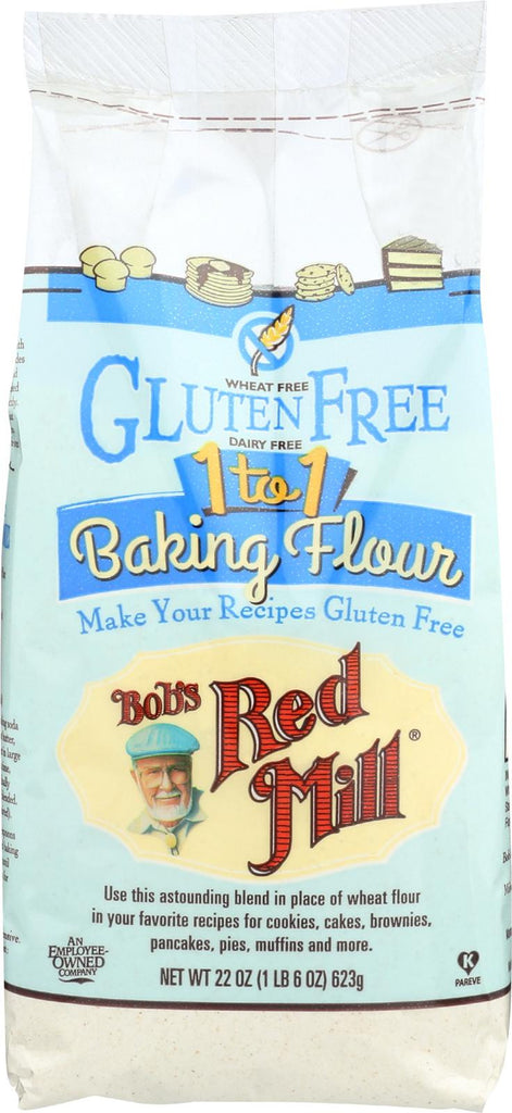 Bob's Red Mill Gluten Free 1-to-1 Baking Flour - 22 Oz - Case Of 4