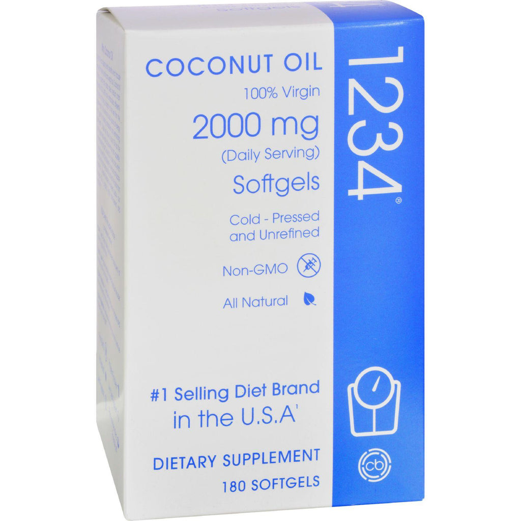 Creative Bioscience Coconut Oil 1234 - 2000 Mg - 180 Softgels