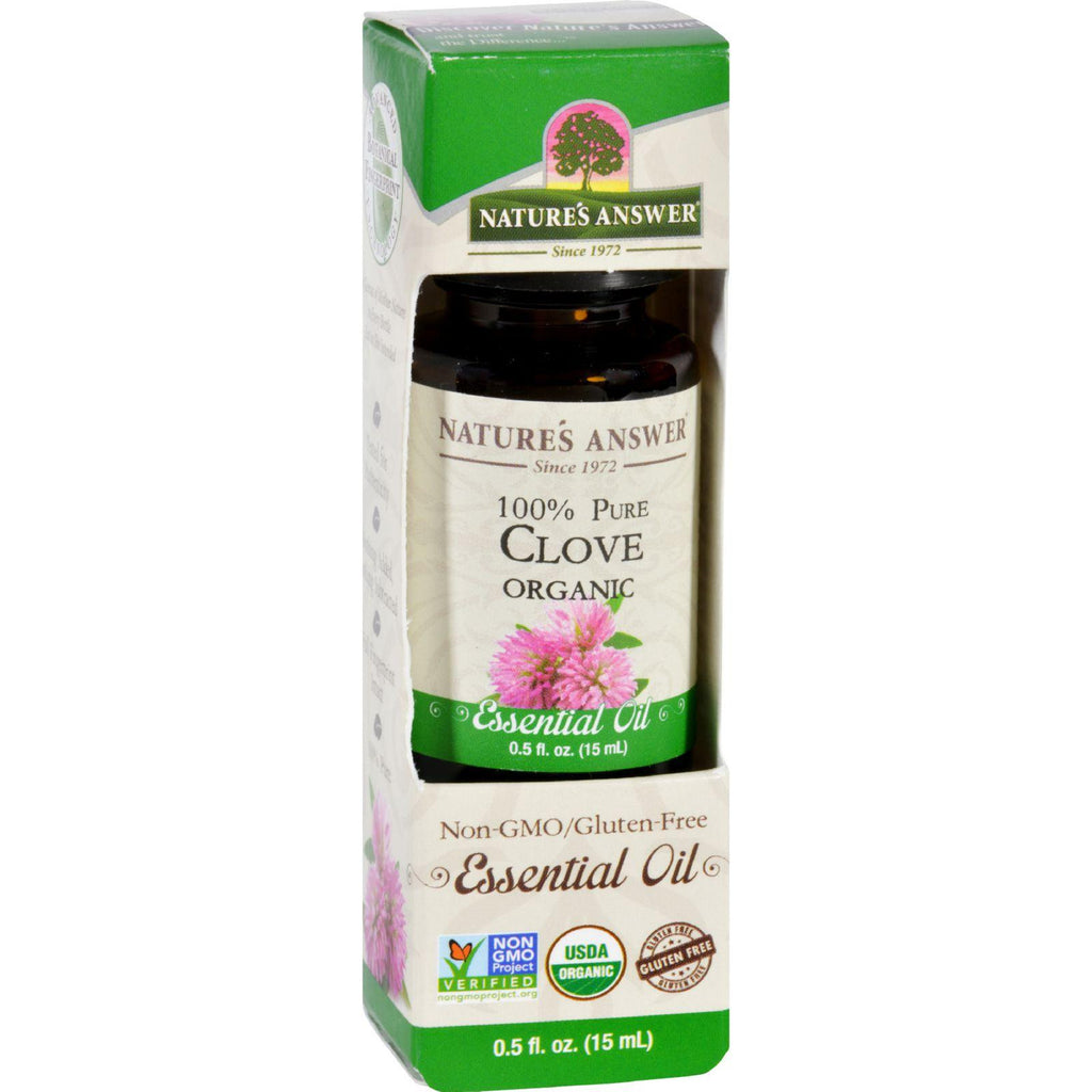 Natures Answer Essential Oil - Organic - Clove - .5 Oz
