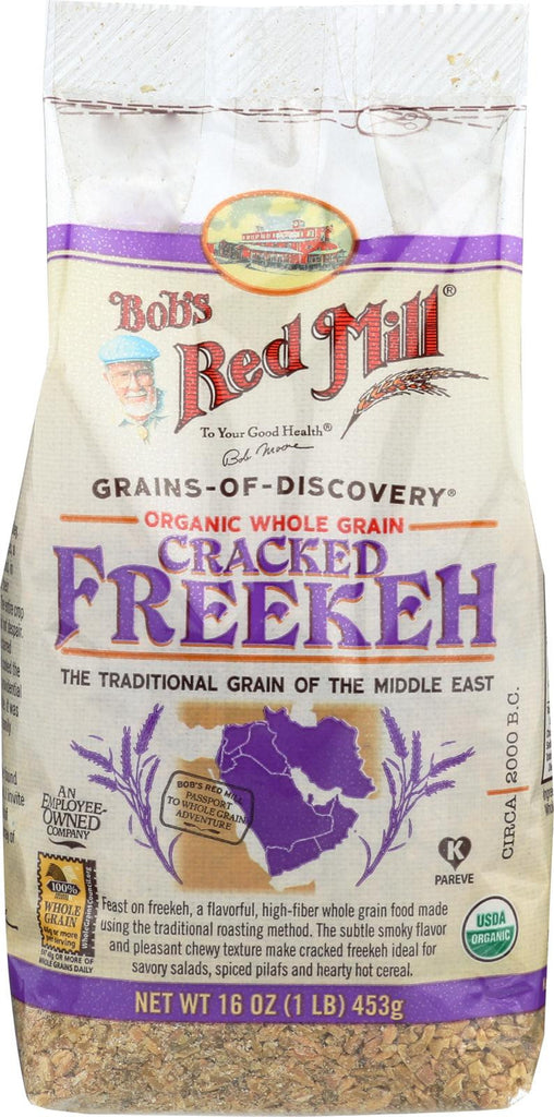 Bob's Red Mill Organic Cracked Freekeh - 16 Oz - Case Of 4