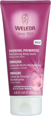 Weleda Body Wash - Evening Primrose Revitalizing - 6.8 Oz