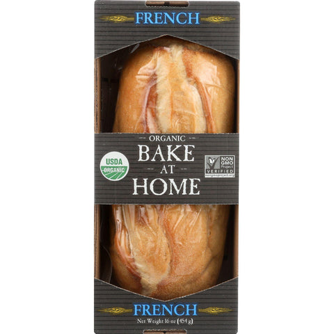 Essential Baking Company Bread - Organic - Bake At Home - French - 16 Oz - Case Of 12