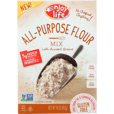 Enjoy Life Baking Mix - All-purpose Flour - Gluten Free - 16 Oz - Case Of 6