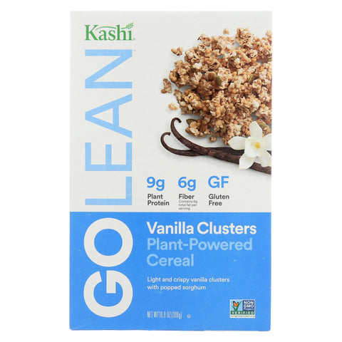 Kashi Clusters Cereal - Vanilla Pepita - Case Of 8 - 10.8 Oz.