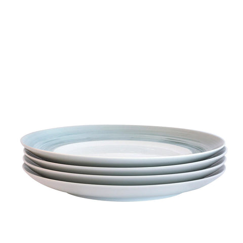 Bambeco Dakota Mist Porcelain Dinner Plate - Case Of 4 - 4 Count