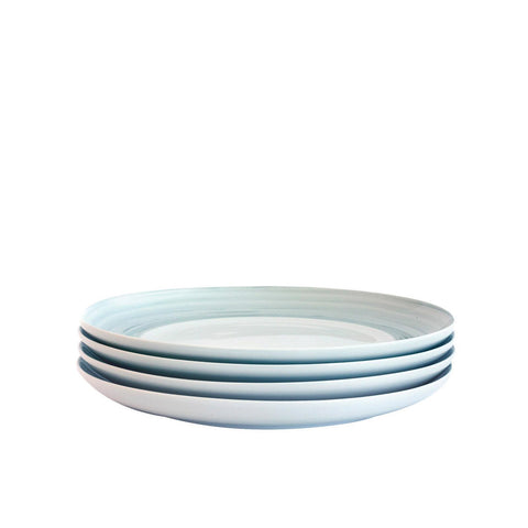 Bambeco Dakota Mist Porcelain Salad Plate - Case Of 4 - 4 Count