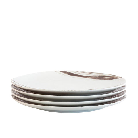 Bambeco Goode Grain Porcelain Dinner Plate - Case Of 4 - 4 Count