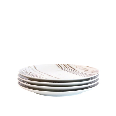 Bambeco Goode Grain Porcelain Salad Plate - Case Of 4 - 4 Count
