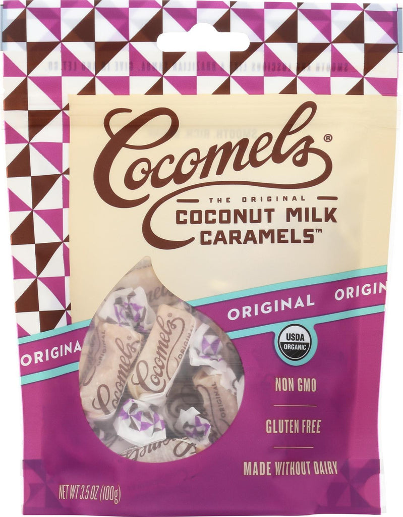 Cocomel Organic Coconut Milk Caramels - Original - Case Of 6 - 3.5 Oz.