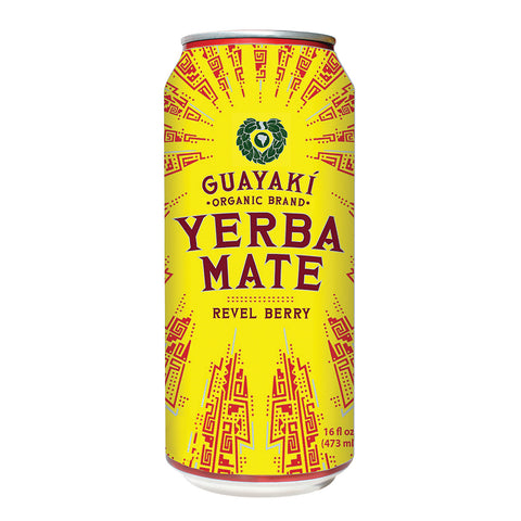 Guayaki Yerba Mate - Revel Berry - Case Of 12 - 15.5 Fl Oz.