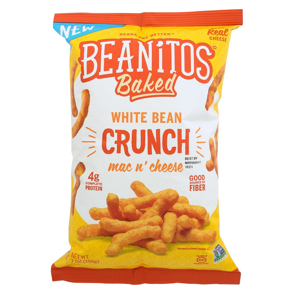 Beanitos Chips - Mac N' Cheese - Case Of 6 - 7 Oz.