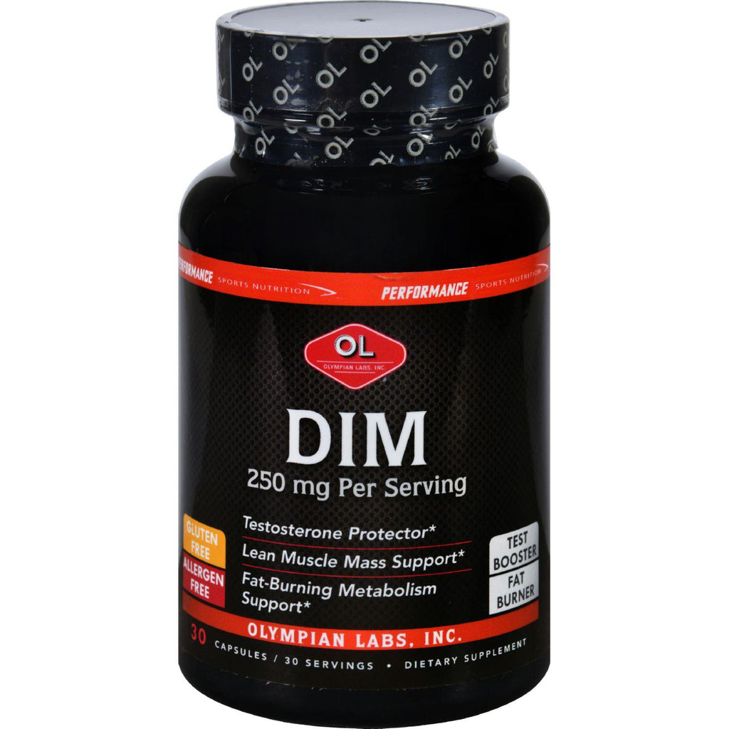 Olympian Labs Dim - Performance Sports Nutrition - 250 Mg - 30 Capsules