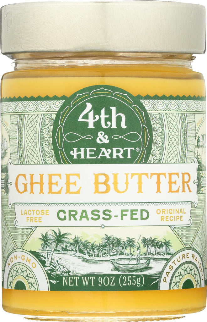 4th And Heart Original Ghee - Butter - Case Of 6 - 9 Oz.
