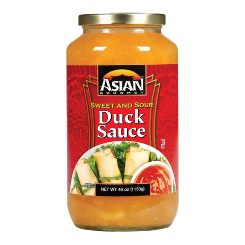 Asian Gourmet Sauce - Sweet & Sour - Duck - Case Of 6 - 40 Fl Oz
