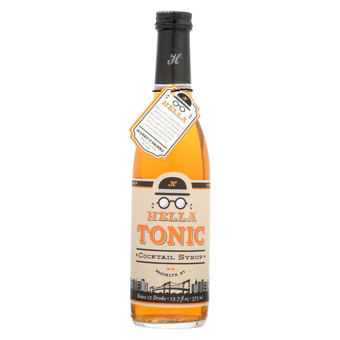Hella Cocktail Syrup - Tonic - Case Of 6 - 12.5 Fl Oz