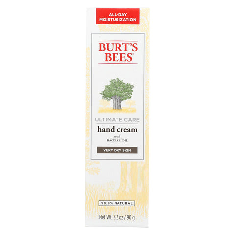 Burts Bees Hand Cream - Ultimate Care - 3.2 Oz