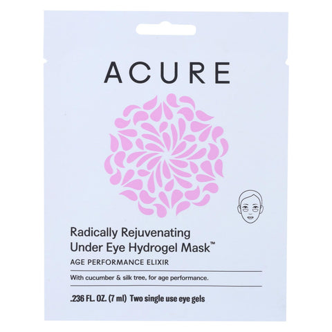 Acure Gel Mask - Rejuvenating - Eye - 1 Ea