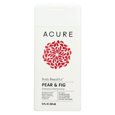 Acure Shampoo - Pear - Body Beautiful - 12 Fl Oz