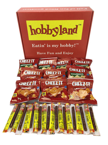 Hobbyland Snack Box - Slim Jims and Cheez-its