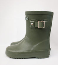 Hubble + Duke Gumboots - Kids - Khaki