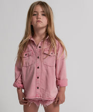 One Teaspoon Kids Evil Eye Vintage Denim Shirt