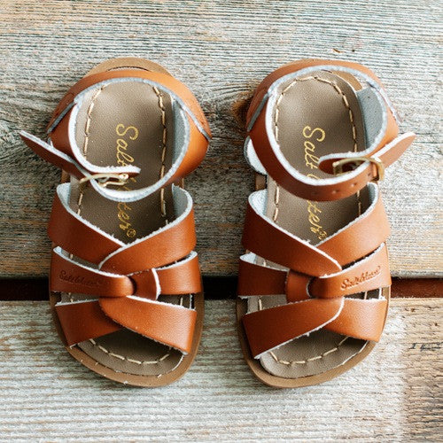Saltwater Sandals - Tan *COMING SOON*