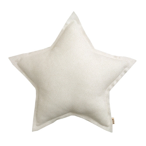 Numero 74 Glitter Mini Star Cushion - White