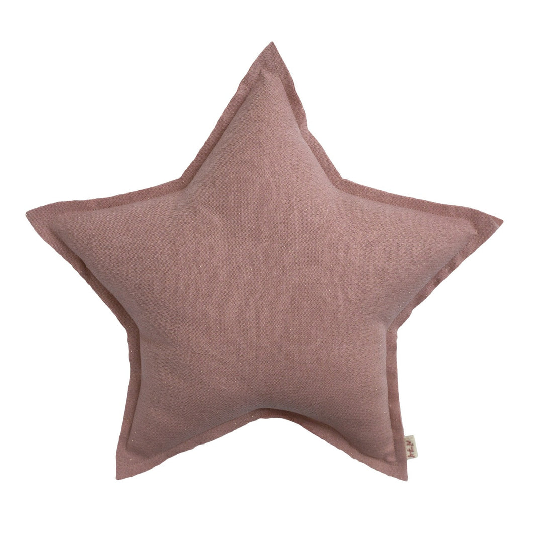Numero 74 Glitter Mini Star Cushion - Pink