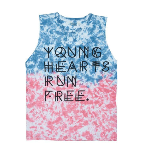 Zuttion Young Hearts Run Free Tank *PRE-ORDER