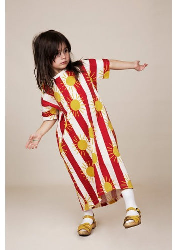 Mini Rodini Sun Stripe Tee Dress
