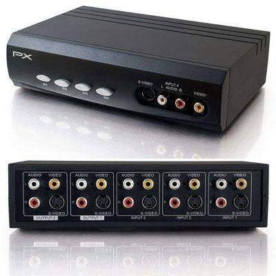 Stereo Audio Selector Switch