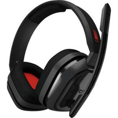 A10 Headset PC Grey Red