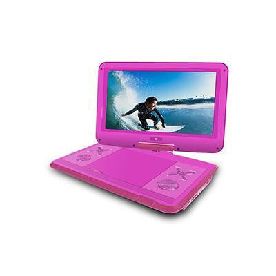 "12.1"" Portable Dvd Player Pink"