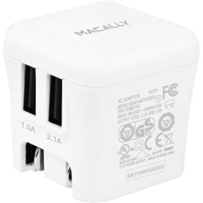 15w 2 USB Port Wall Charger