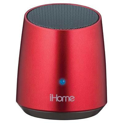 Bt Rechg Mini Speaker Red