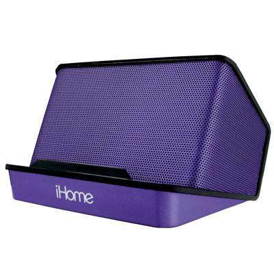 Portable Recharge Speaker Purp
