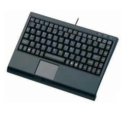 Mini Keyboard With Touchpad Blk