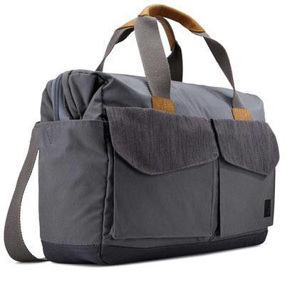 "Lodo 15"" Laptop Satchel Grpht"