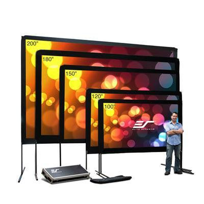 "100"" Portable Outdoor Screen"