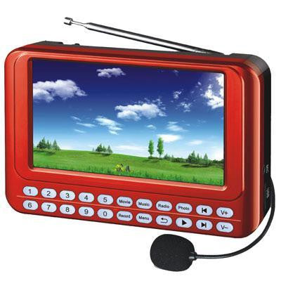 Prtble Sys 4.3tft Screen Fmradio