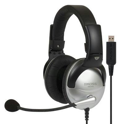 Communication Headset With Usb